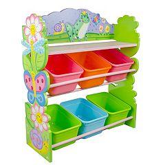 Fantasy Fields Magic Garden Hand Crafted Toy Organizer & Storage Bins by