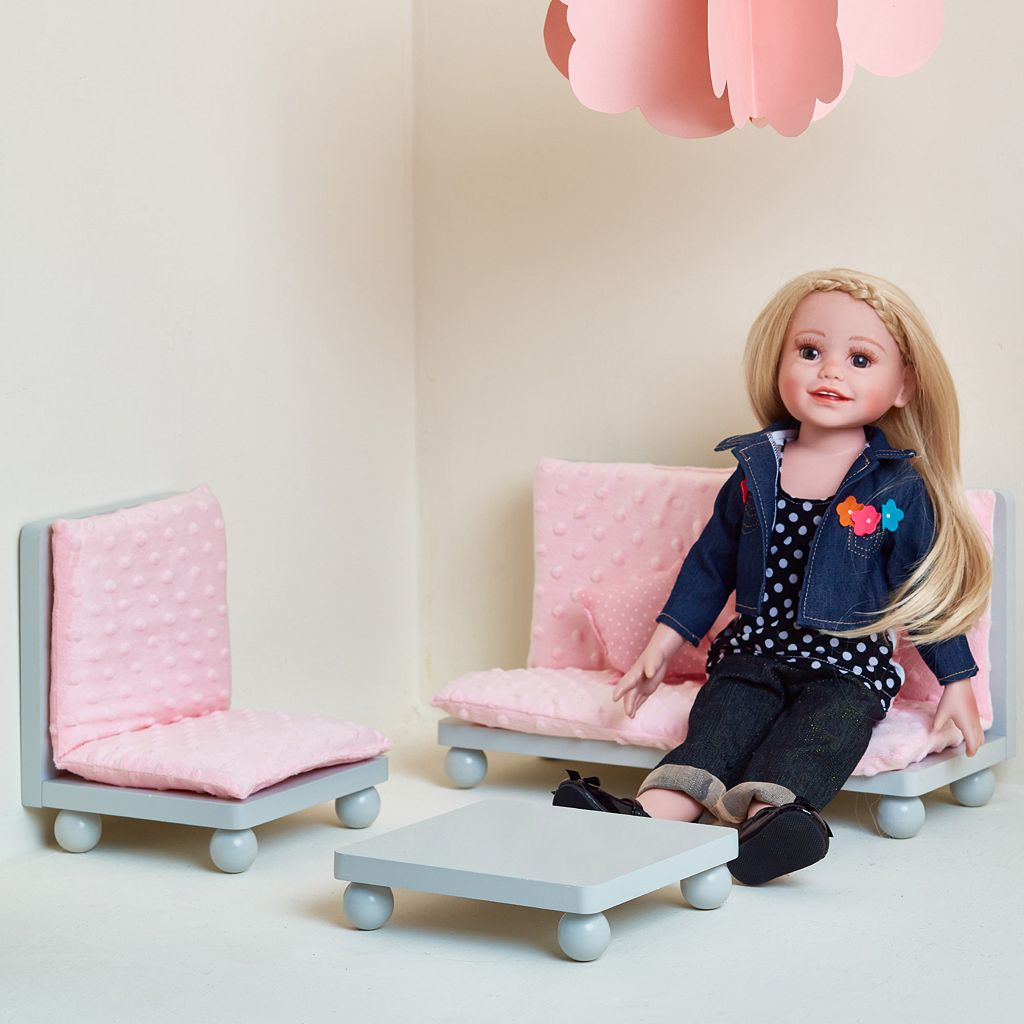 Olivia's Little World 18-Inch Doll Lounge Furniture Set