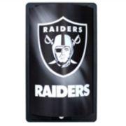 Oakland Raiders MotiGlow Light-Up Sign