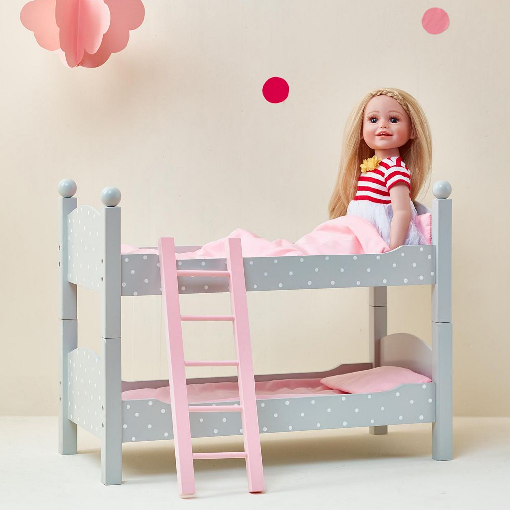 Olivia's Little World 18-Inch Doll Double Bunk Bed Furniture Set