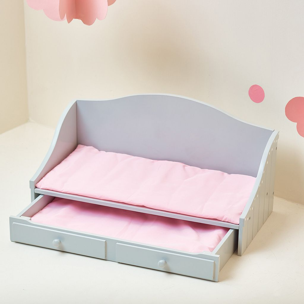 Olivia's Little World 18-Inch Doll Trundle Bed Furniture