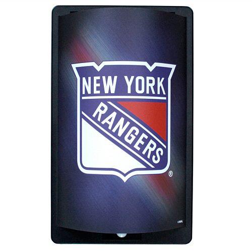 New York Rangers MotiGlow Light-Up Sign