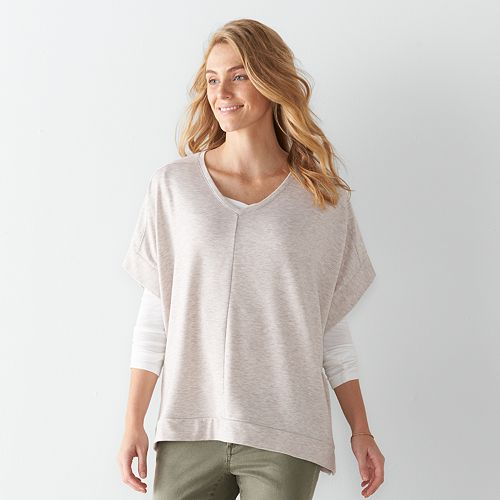 d4dbf3928f7b Women's SONOMA Goods for Life™ Poncho Sweater