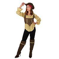 Adult Runaway Pirate Queen Costume