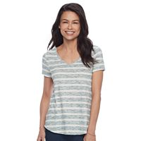 Petite SONOMA Goods for Life™ Essential V-Neck Tee