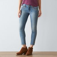 Petite SONOMA Goods for Life™ Embroidered Skinny Jeans