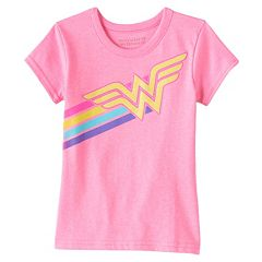 Girls 4-6x DC Comics Wonder Woman Glitter Tee