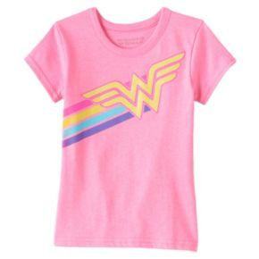Girls 4-6x DC Comics Wonder Woman Glitter Tee