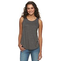 Juniors' Mudd® Racerback Tank Top