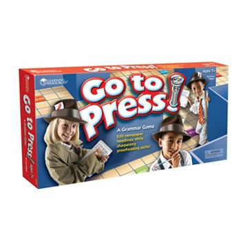 Go to Press Grammar & Proofreading Game by Learning Resources