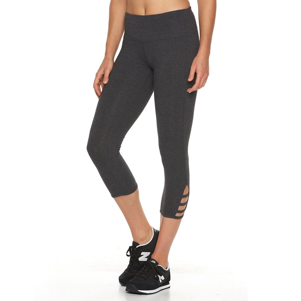 Tek Gear® Lattice Yoga Capris