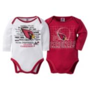 Baby Arizona Cardinals 2-Pack Bodysuits