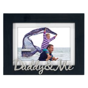 """Daddy & Me"" 4"" x 6"" Distressed Frame"