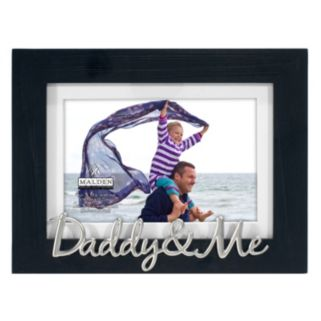 """""""Daddy & Me"""" 4"""" x 6"""" Distressed Frame"""