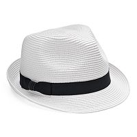 Women's SONOMA Goods for Life™ Grosgrain Ribbon Fedora