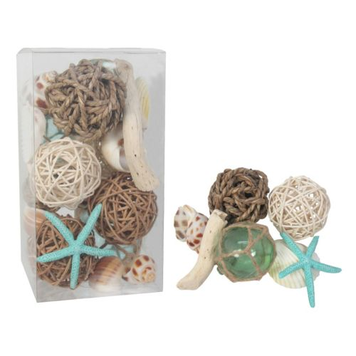 SONOMA Goods for Life™ Seashell & Faux Starfish Vase Filler 22-piece Set