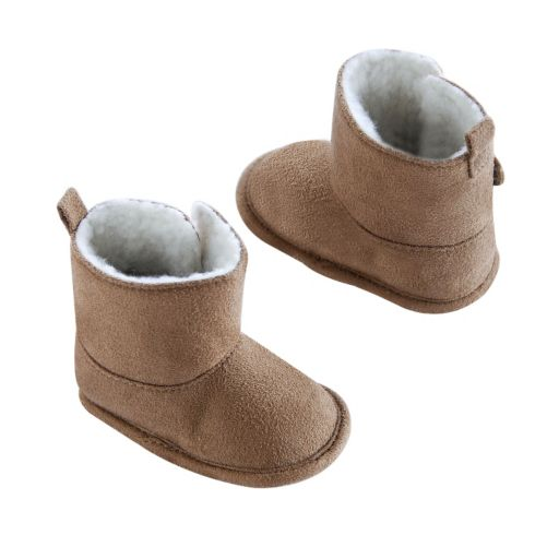 OshKosh B'gosh® Baby Winter Faux-Fur Boot Crib Shoes