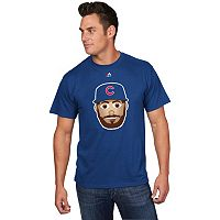 Men's Majestic Chicago Cubs Jake Arrieta Player Face Tee