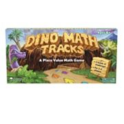 Learning Resources Dino Math Tracks Place Value Game