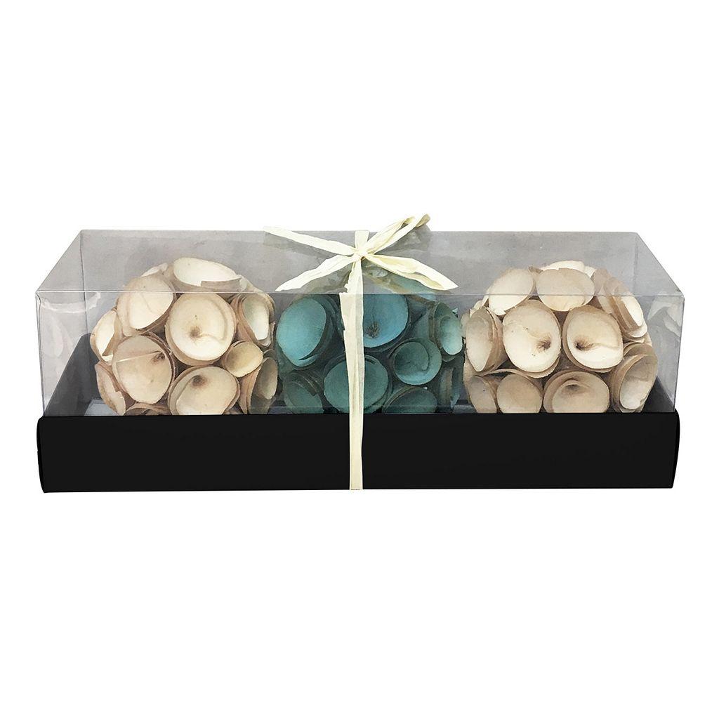 SONOMA Goods for Life™ Wood Curl Vase Filler 3-piece Set