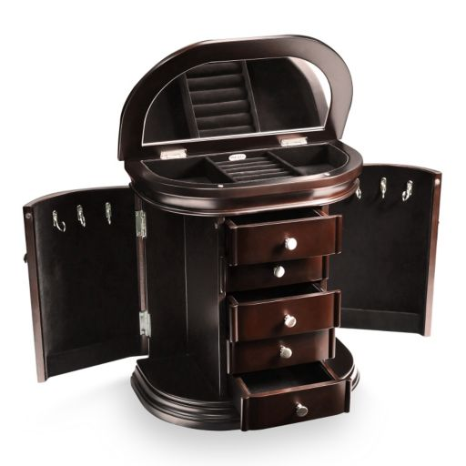 Mele & Co. Sonora Wooden Jewelry Box