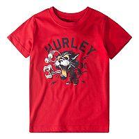 Boys 4-7 Hurley Shocked Cat Graphic Tee