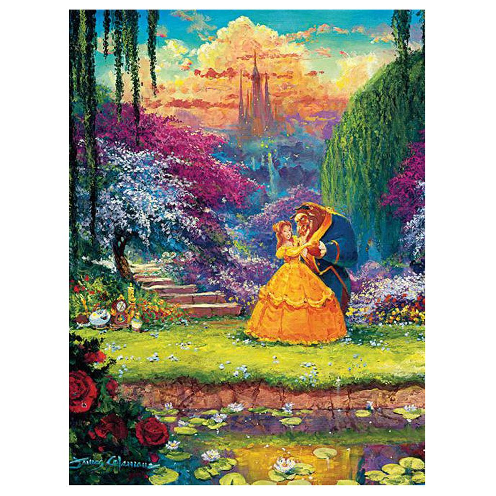 Disney's Beauty & The Beast Fine Art 550-pc. Garden Waltz Puzzle by Ceaco