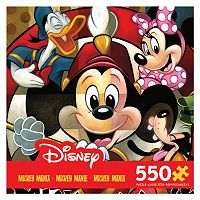 Disney's Mickey Mania 550-pc. Leader of the Club Puzzle by Ceaco
