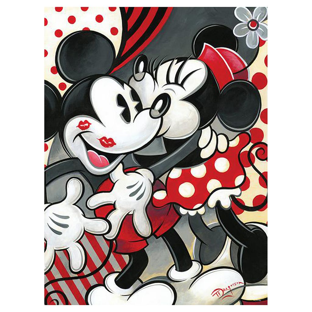 Disney's Mickey Mania 550-pc. Hugs & Kisses Puzzle by Ceaco
