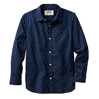 Boys 8-20 Urban Pipeline® Dot Button-Down Shirt