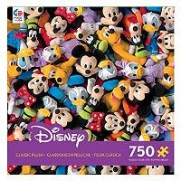 Disney's Collections Classic Plush 750-pc Puzzle by Ceaco