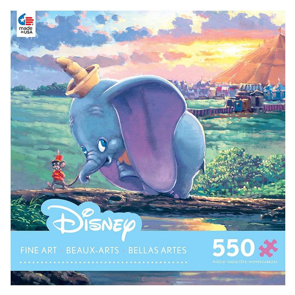 Disney's Dumbo Fine Art 550-pc. Unlikely Friends Puzzle by Ceaco