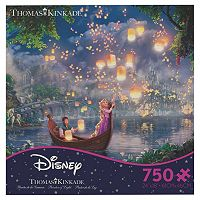 Disney's Tangled 750-pc. Thomas Kinkade Puzzle by Ceaco