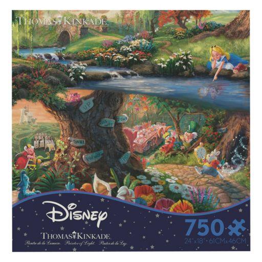 Disney's Alice in Wonderland 750-pc. Thomas Kinkade Puzzle by Ceaco