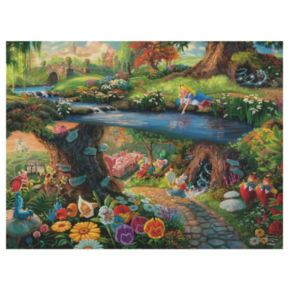 Disney's Alice in Wonderland 750-pc. Thomas Kinkade Puzzle by Ceaco