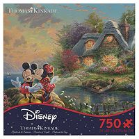 Disney's Mickey & Minnie Mouse 750-pc. Thomas Kinkade Puzzle by Ceaco