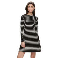 Juniors Long Sleeve Dresses- Clothing - Kohl&-39-s