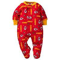 Baby Kansas City Chiefs Footed Pajamas