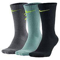 Men's Nike 3-pack Dri-Fit Fly V4 Crew Socks