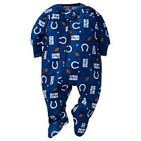 Baby Indianapolis Colts Footed Pajamas