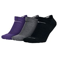Men's Nike 3-pack Dri-FIT Cushioned No-Show Socks