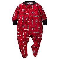 Baby San Francisco 49ers Footed Pajamas