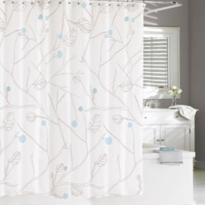 Kassatex Poppy Shower Curtain