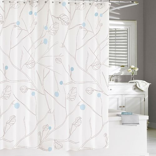 Kassatex Poppy Shower Curtain