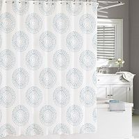 Kassatex Starburst Shower Curtain