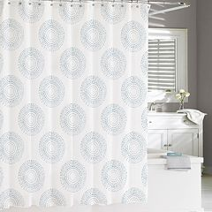 Kassatex Starburst Shower Curtain