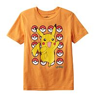 Boys 4-7 Pokemon Pikachu Dancing Tee