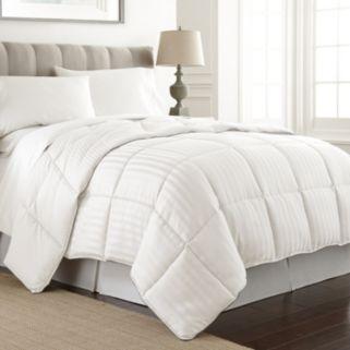 Dobby Stripe Reversible Down Alternative Comforter