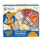 Learning Resources Bright Bites Count & Cook Breakfast Set