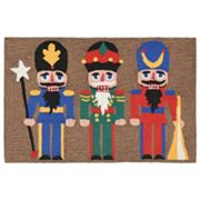 Liora Manne Frontporch Nutcracker Indoor Outdoor Rug